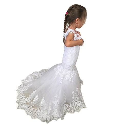 mermaid flower girl dresses - 9