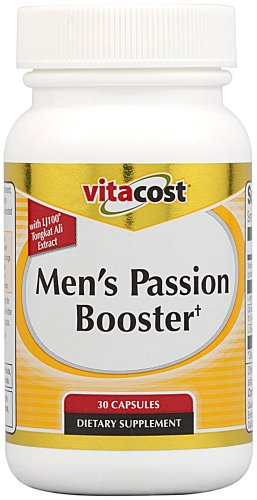 Booster Passion Men Vitacost avec LJ100 Tongkat Ali - 30 Capsules