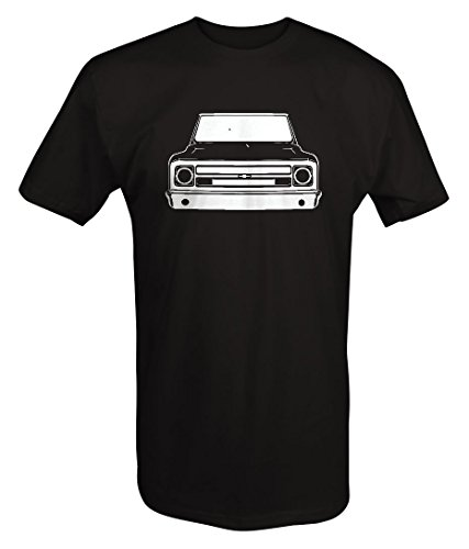 1967-72 Chevy GMC Classic Lowered Pickup Truck C10 C20 Cheyenne T shirt - Xlarge
