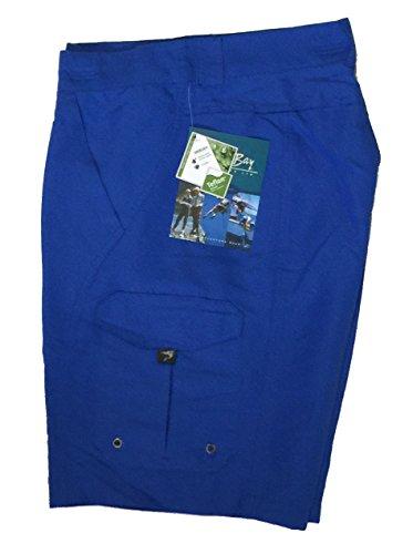 - Bimini Bay Outfitters Men's Marquesa Performance Nylon Short 31639 Crystal Blue 40