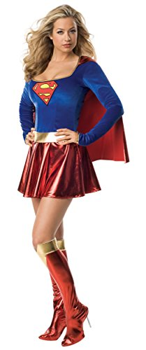 Deluxe Supergirl Adult Costume - Large