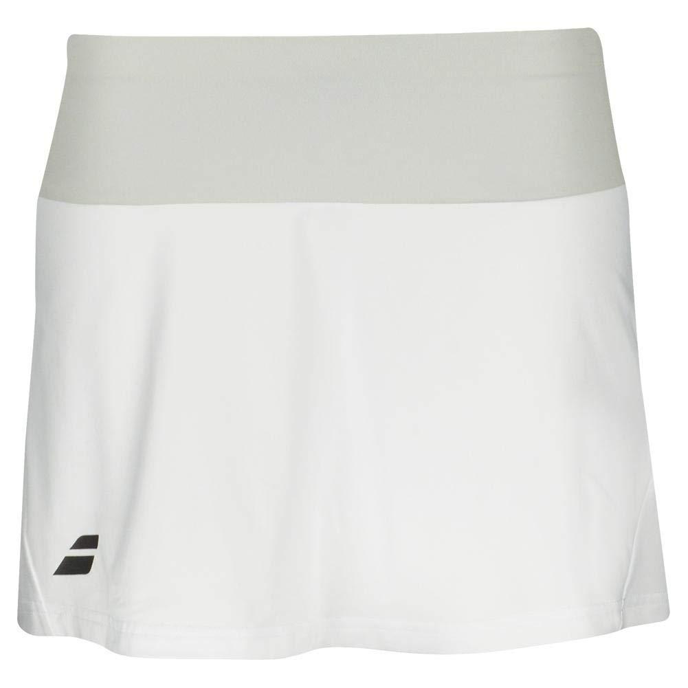 Core Femmes Jupe de Tennis Babolat Blanc