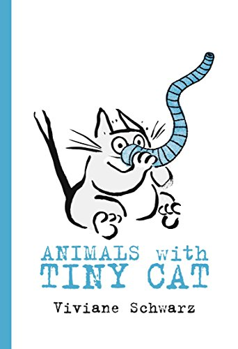 Animals with Tiny Cat -