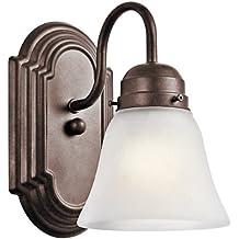 Kichler 5334TZ Wall Sconce 1-Light, Tannery Bronze