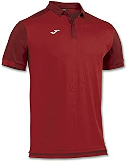 Joma Polo Shirt Comfort Red M/C for Man, Unisex adult, POLO COMFORT ROJO M/C -ALGODON-, red - 600
