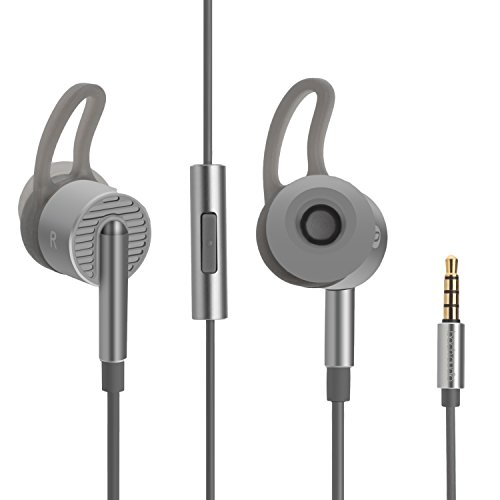 BACH-AUDIO-EM05, In- Ear Hearphones, Earbuds with Mic and 3.5mm Gilded plug ,Acoustic Noise Cancelling, Deep bass and Stereo . Compatible with Android, Iphone and Miui HiFi earbuds For Sale