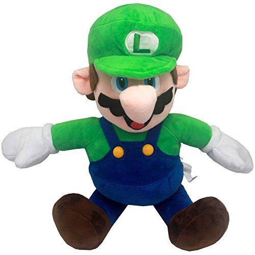 FAIRZOO Super Mario Plush, Luiqi, Mario Soft Stuffed Plush Toy Green - ()