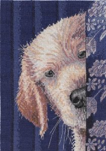 I Didn't Do It Bucilla Heirloom Collection I Didn't Do It Counted Cross Stitch Kit-5''X7'' 18 Count Signage Kit