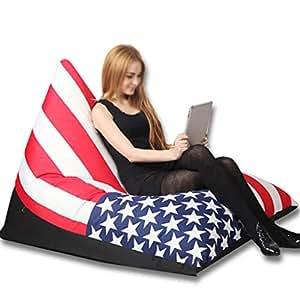 Amazon.com: XHLXHL Bean Bag, Creative Lazy Sofa Computer ...