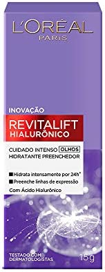 Creme Revitalift Hialurônico Olhos, L'Oréal P