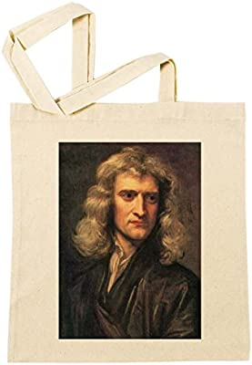 Isaac Newton Bolsa De Compras Playa De Algodón Reutilizable Shopping Bag Beach: Amazon.es: Hogar