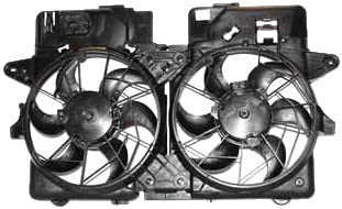 TYC 620670 Ford Escape Replacement Radiator//Condenser Cooling Fan Assembly