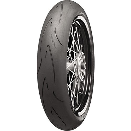 Continental Conti Attack SM Front Tire - 120/70R-17/-- by Continental