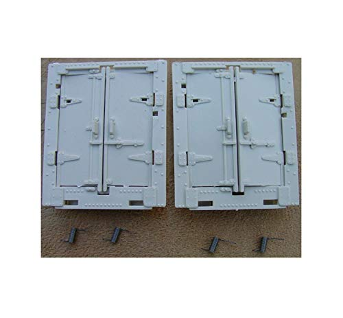 (347-46 3-472 3-482 Milk Car Door's Two Sets w/Springs Compatible w/Lionel Hobby Vehicle Quick Arrive)