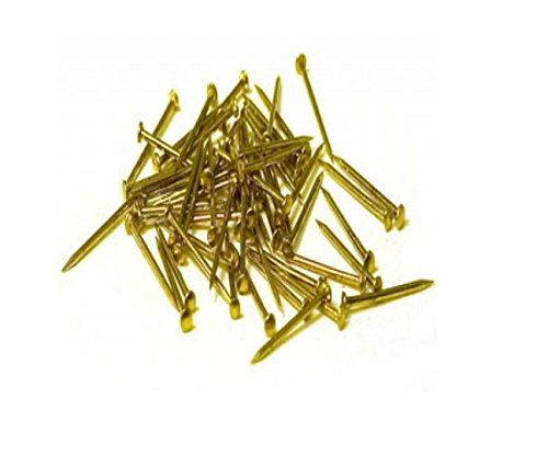 Model Expo Nails, Brass .028 X 5/16 (.7X8MM) #MS0940B 1500 Per Pack by for Model Ship Building - ON SALE! ()