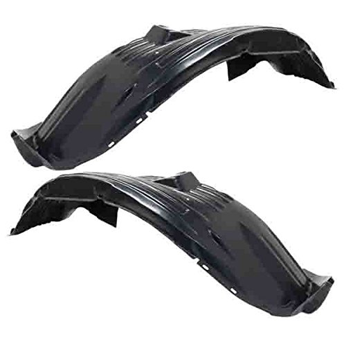 Koolzap For 05-15 Xterra 4.0L Front Splash Shield Inner Fender Liner Left Right PAIR SET