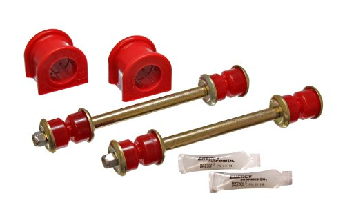 Energy Suspension 4.5155R Front Sway Bar Bushing Set for Explorer by Energy Suspension