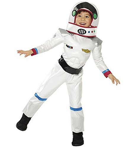 Muscle ASTRONAUT COSTUME 12-24 MONTHS White Space Suit Boy Toddler Child Halloween Dress Up
