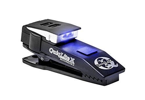 [QuiqLiteX Hands Free Pocket Concealable Flashlight / Blue LED's, 20 up to 75 Lumens] (Cheap Police Hats)