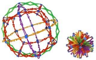 Hoberman: Mini Sphere - Rings(Discontinued by manufacturer)