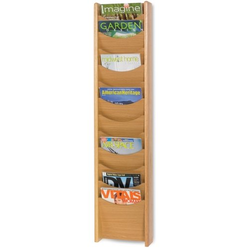 SAF4331MO - Safco 12 Pocket Wall Mount Literature (Safco Wall Mount)