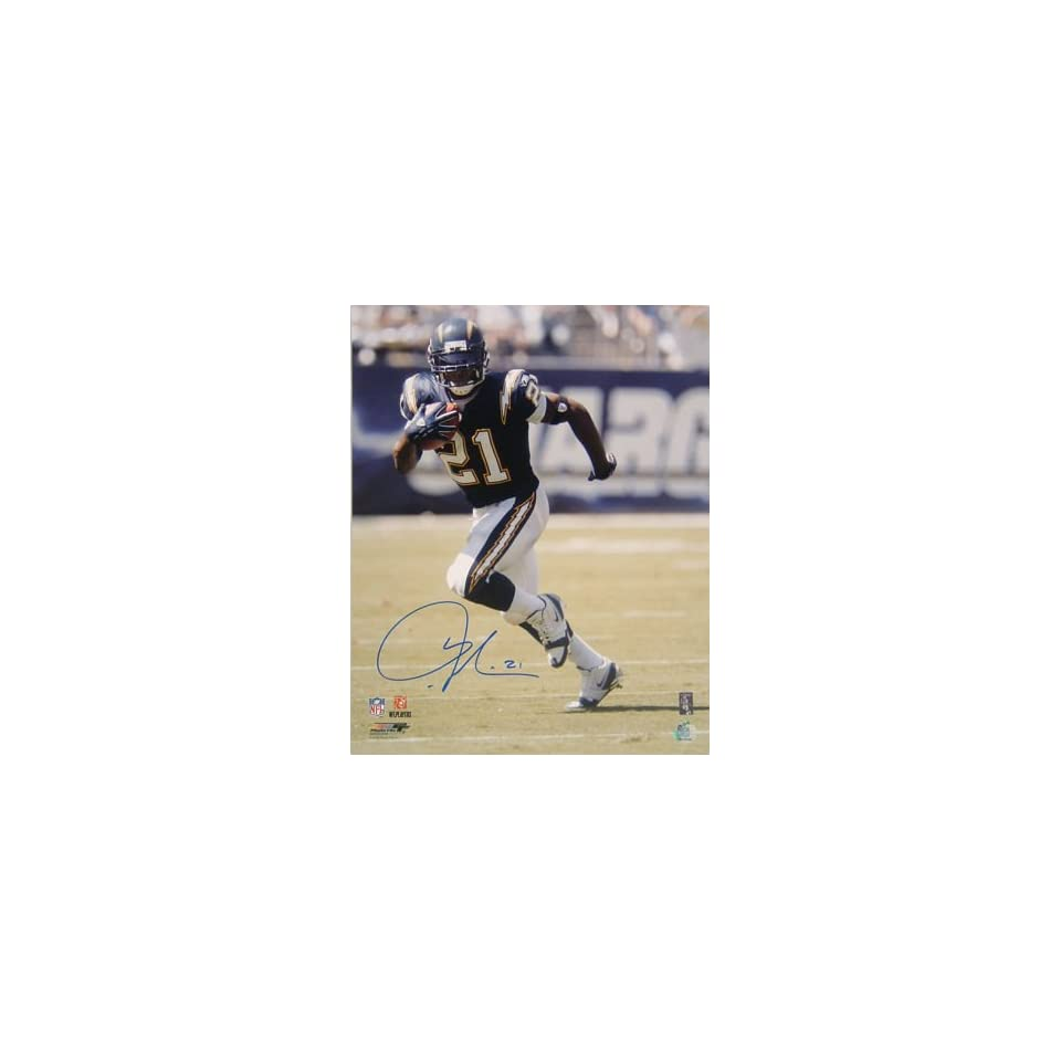 Ladainian Tomlinson Signed San Diego Chargers 16x20