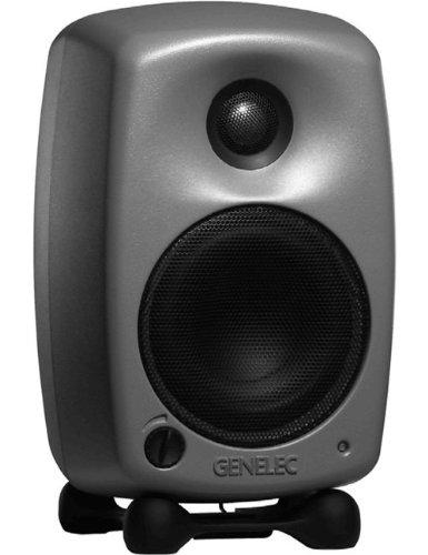 Genelec 8020A Active Bi-amplified Studio Monitor with 20 Watt 4 Inch Woofer and 20W .75 Inch Tweeter BLACK