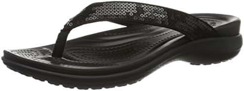 Crocs Women's Capri V Sequin W Flip Flop