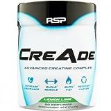 RSP Nutrition CreAde Advancd Creatine Complex, Lemon Lime, 275 Gram