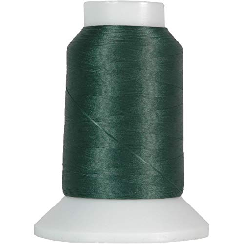 Threadart Wooly Nylon Thread - 1000m Spools - Color 9159 - Pine Green - 50 Colors Available
