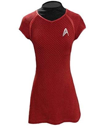 amazoncom star trek the movie uhura dress replica uniform x large toys games - Uhura Halloween Costume