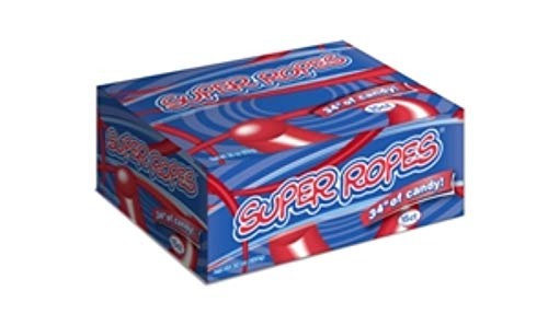 Red Vines Super Ropes Rollin Red Candy Rope, 2 Ounce -- 180 per case. by Red Vines (Image #1)