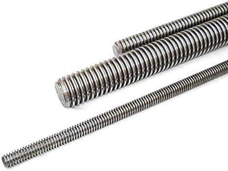 /Ø8mm,1.4301 // Aisi - 304 V2A Rundstab Gewindestab 0.5 Meter Edelstahl Gewindestange M8
