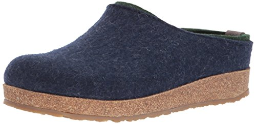 Haflinger Kris Captains Blue Gz Flat Women's qqRCO