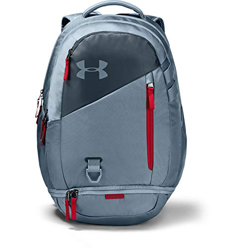 Under Armour Hustle 4.0 Backpack, Ash Gray (013)/Ash Gray, One Size Fits All (Gray Under Armour Backpack)