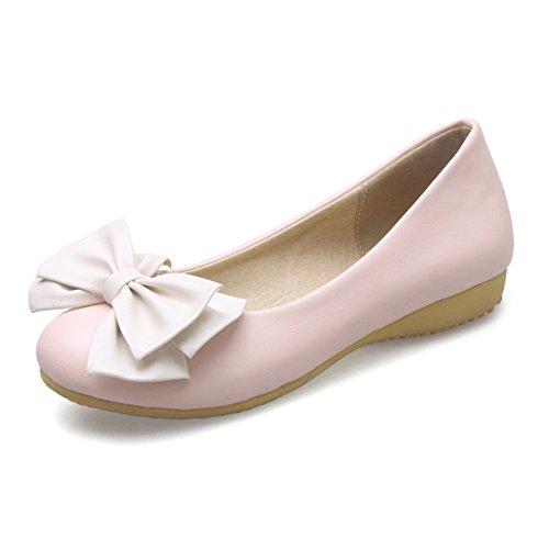 Dulce bajo zapatos/arco de zapatos del estudiante/las chicas princesa zapatos/Plano casuales zapatos B