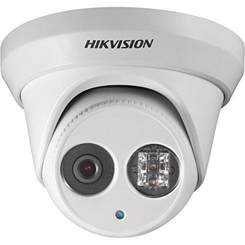 HIKVISION 4 Megapixel EXIR PoE Turret IP Outdoor Surveillance Camera, DS-2CD2342WD-I 2.8mm Lens by Hikvision