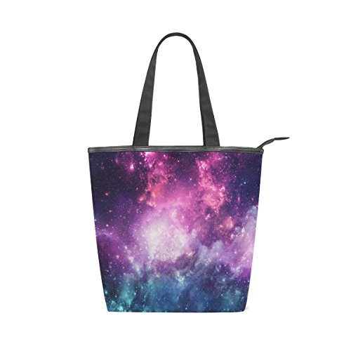 Nebula Galaxy Star Colorful Bag MyDaily Canvas Shoulder Womens Universe Handbag Tote And qw6YXxF8