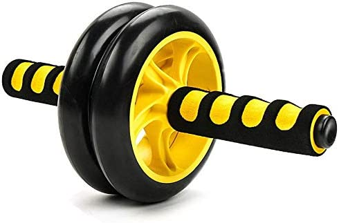 Core & Abdominal Trainers Abdominal Wheel Yellow Abdominal Wheel Huge Fitness Roller Mute AB Weight Loss Fitness Equipment For Home Gym Abdominal Trainer Ideal for beginners and experienced people wei 1