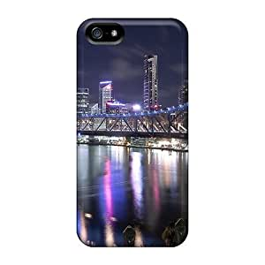 Hot Snap-on Blue Bridge Hard Cover Case/ Protective Case For Iphone 5/5s