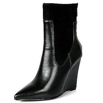 Spitz Imeily Stiefel Schuhe Zulaufender Damen Fashion xBodrWCQe