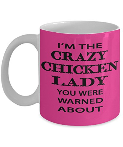 Looking Crazy Chicken coffee birthday product image