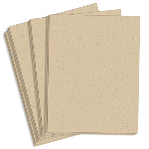 Royal Sundance Driftwood Fiber Paper - 8 1/2 x 11, 70lb Text, 3000 Pack by LCI Paper