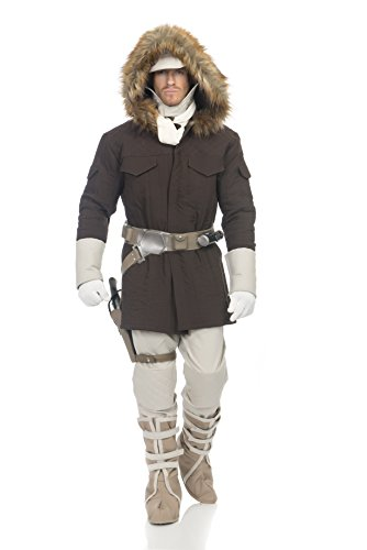 Star Wars Hoth Han Solo Adult Costume, Small, Brown ()