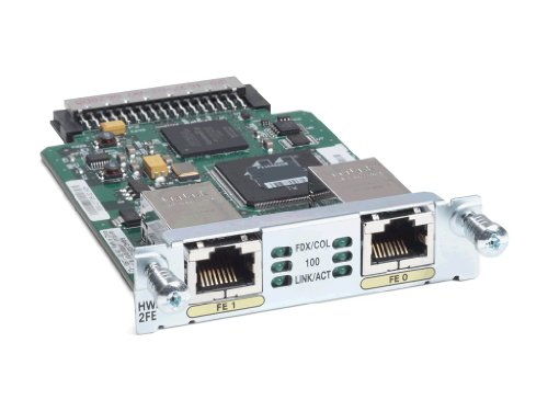 Cisco Ethernet Wic - Cisco HWIC-2FE 2 Port Fast Ethernet High Speed WIC Card