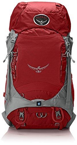 Osprey Packs Kestrel 38 Backpack (2015 Model) (Fire Red, Medium/Large) [並行輸入品] B07DVRKPQR