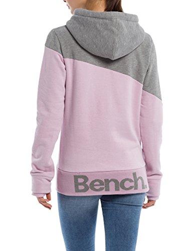 Bench dawn Pk11462 Block Hoody Cappuccio Donna Viola Pink Color Her UqBzxrU