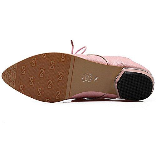 Fashion Women Chila Zuban Toe Pink Pumps Pointed 0RnTxqwv