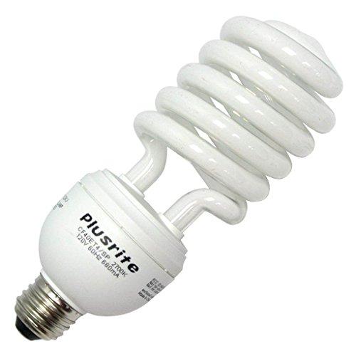 120v T4 Medium Screw - Plusrite 4270 - CF40ET4/SP/E26/SW MED BASE 120V Twist Medium Screw Base Compact Fluorescent Light Bulb