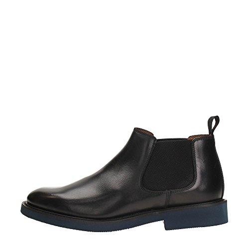 Frau Polacchini beatles nero scarpe uomo 74P3